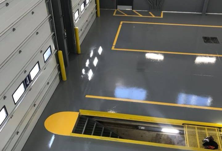 Opaque System Adhesives Lab Epoxy Flooring Supplier