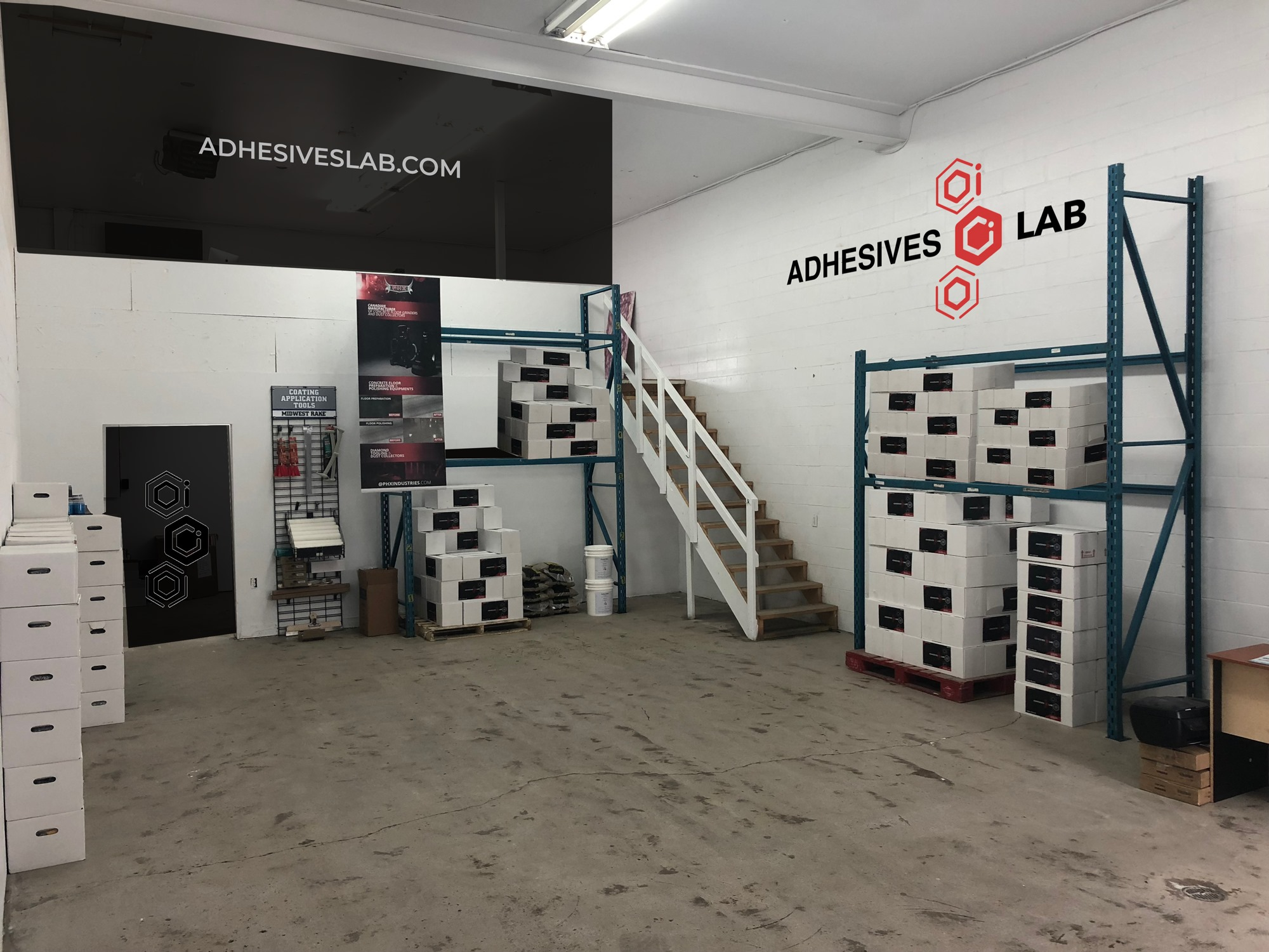 NCR Epoxy Center in Gatineau - Adhesives Lab Epoxy Flooring Supplier
